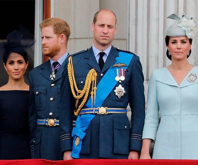 Reports of a royal rift between Kate and Meghan have been rife. *(Image: Getty)*