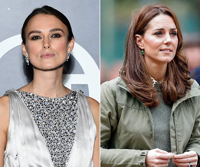 Keira made some bold comments about Kate's seamless public appearance after the birth of Princess Charlotte. *(Images: Getty)*