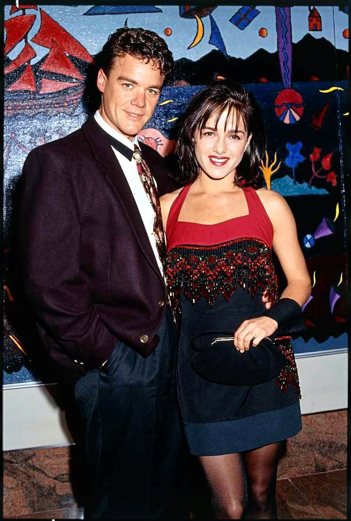 Stefan and and co-star Gayle Blakeney.
