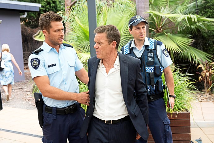 Paul Robinson is arrested - not the first time we've seen him in trouble!