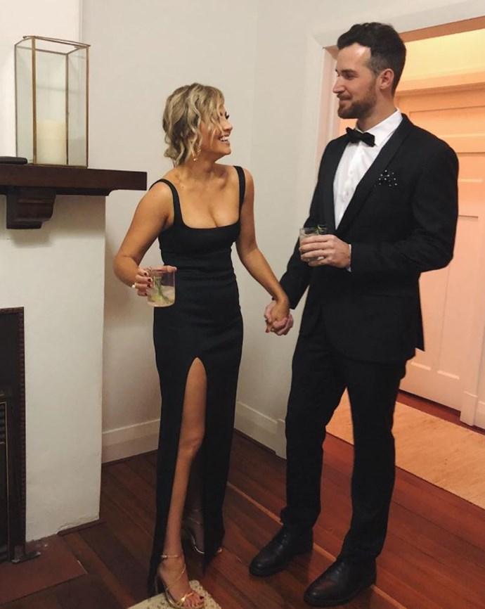 Nikki Gogan and her partner Bill Coe. *(Source: Instagram)*