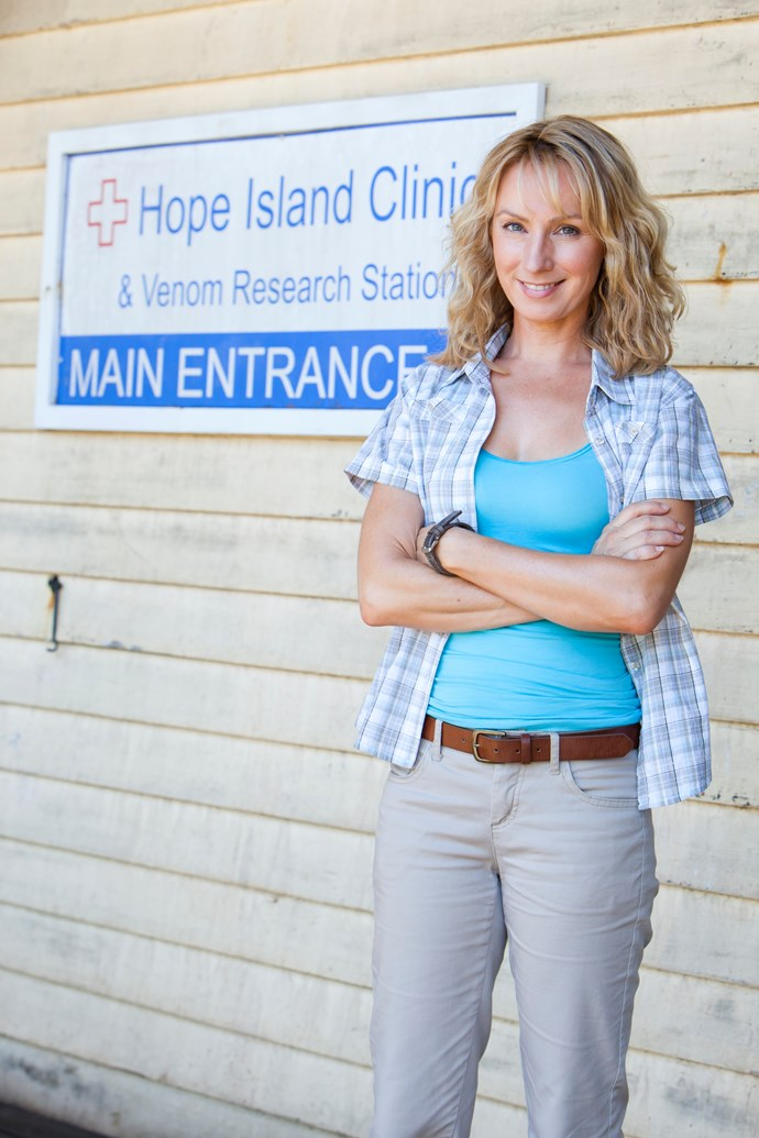 Lisa is hopeful that *Reef Doctors* returns to our screens.