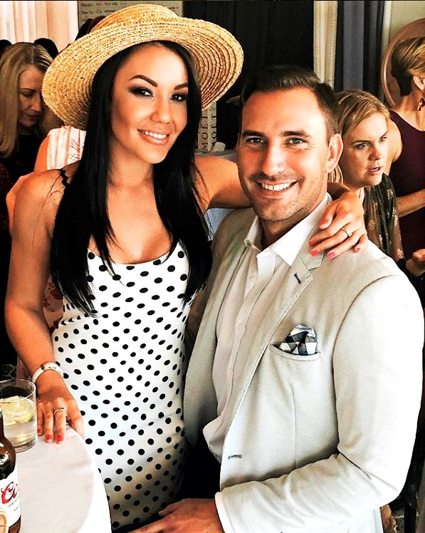 Davina with her new man Jaxon Manuel