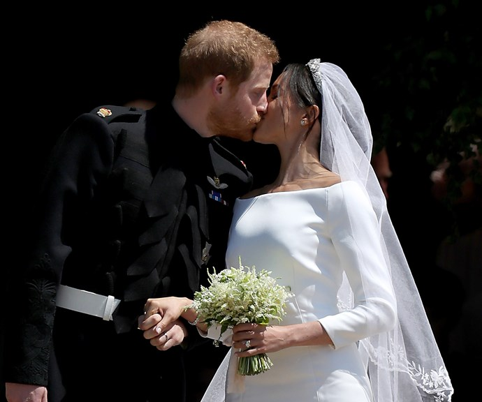 That kiss! *(Image: Getty)*
