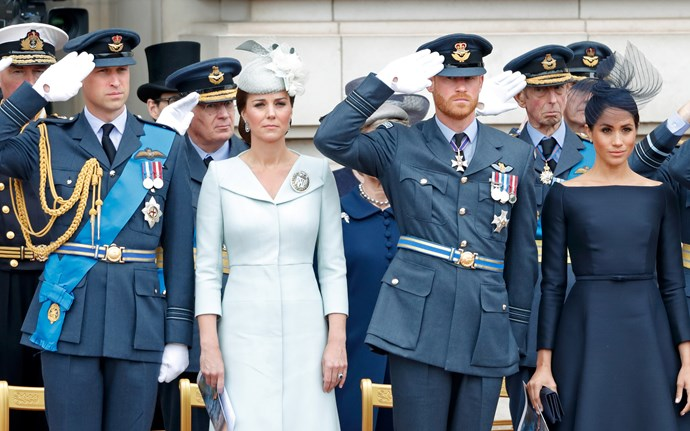 Tension between the Cambridges and the Sussexes is reportedly at breaking point. *(Image: Getty)*
