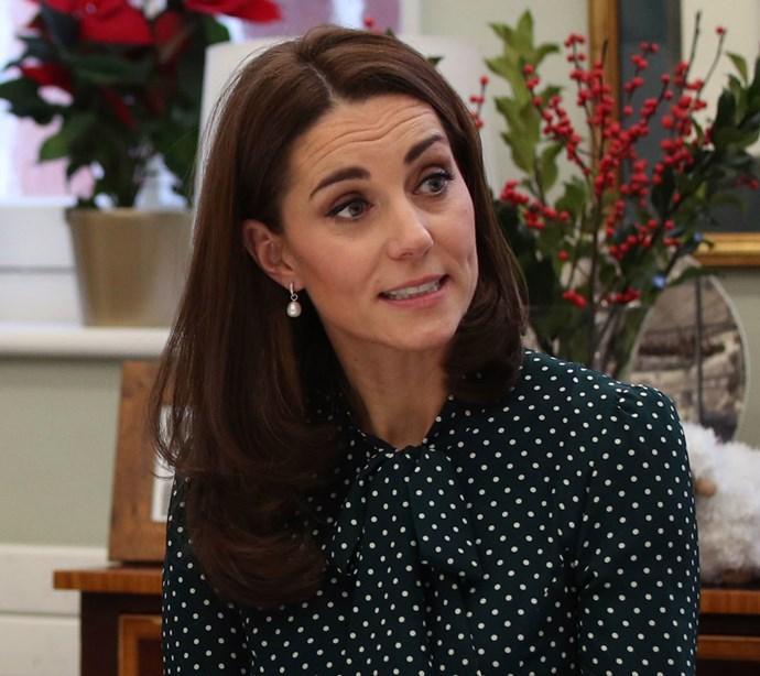 Duchess Catherine burst into tears over Princess Charlotte's bridesmaid dress. *(Image: Getty)*