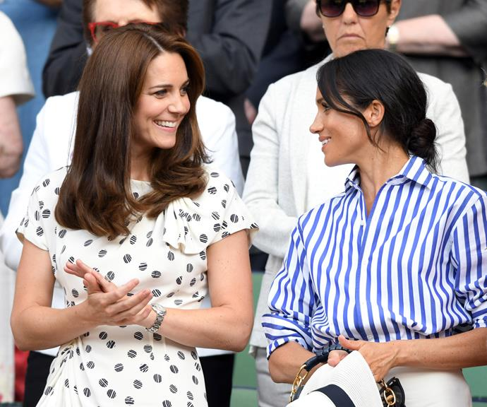 The two Duchesses had a ball at Wimbledon earlier this year.