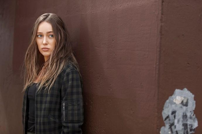 *Fear The Walking Dea*d actress Alycia Debnam-Carey.