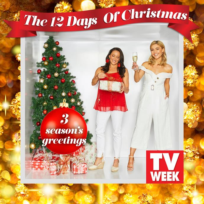 **Georgie Parker and Sam Frost (Roo Stewart and Jasmine Delaney)**