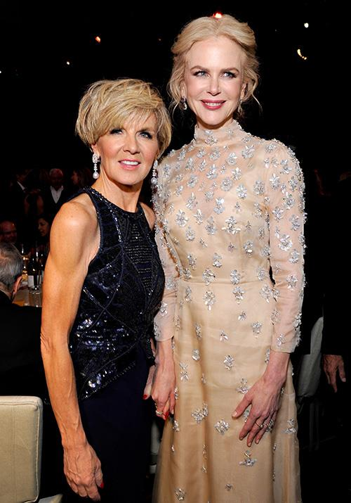 Oh, and did we mention she rubbed shoulders with Nicole Kidman at the glitzy event!? *(Image: Getty)*