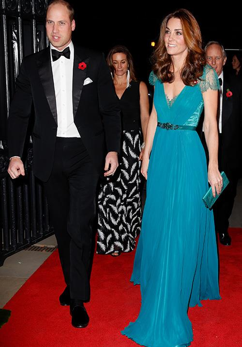 """Duchess Catherine looked divine in this recycled blue Jenny Packham gown at the Tusk Awards in November. Kate [wore the same dress](https://www.nowtolove.com.au/royals/british-royal-family/kate-recycle-blue-dress-52330