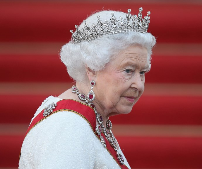 Don't mess with the Queen and her tiaras! *(Image: Getty)*