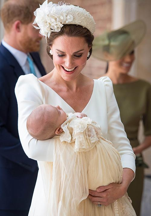 """Prince Louis' Christening was another [big moment](https://www.nowtolove.com.au/royals/british-royal-family/prince-louis-baptism-49654