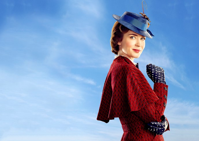 Emily Blunt as the new Mary Poppins.
