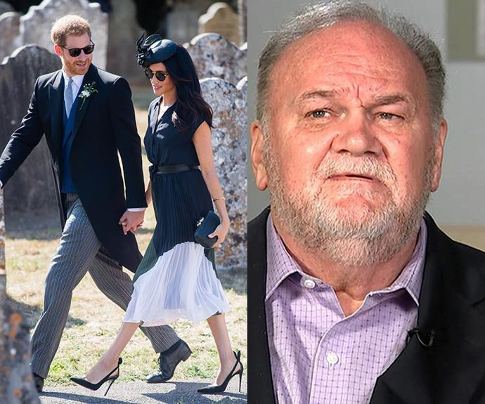 Thomas has opened up about his relationship with his daughter following rumours of a growing rift in the royal family. *(Images: Getty (L) GMB (R))*