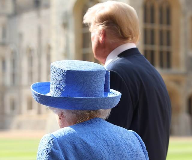 """In July, the Queen was also paid a visit by none other than America's 45th president, Donald Trump. Chris's photos document the engagement that [sparked outrage](https://www.nowtolove.com.au/royals/british-royal-family/prince-charles-prince-william-snub-donald-trump-49910