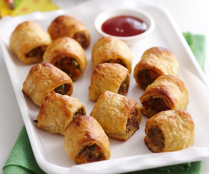 """**Vegetable sausage rolls** <br><br> Vegetarians shouldn't have to miss out on Australia Day! You can use old, limp veggies sitting at the back of your fridge for these.  <br><br> See the full *Australian Women's Weekly* recipe [here.](https://www.womensweeklyfood.com.au/recipes/vegetable-sausage-rolls-18649