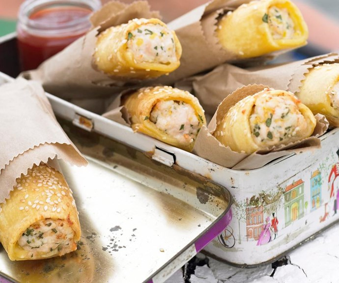 """**Chicken sausage rolls** <br><br> Chicken mince is often cheaper than beef mince, so when it's on special grab a packet and whip these up.  <br><br> See the full Australian Women's Weekly recipe [here.](https://www.womensweeklyfood.com.au/recipes/chicken-sausage-rolls-16199