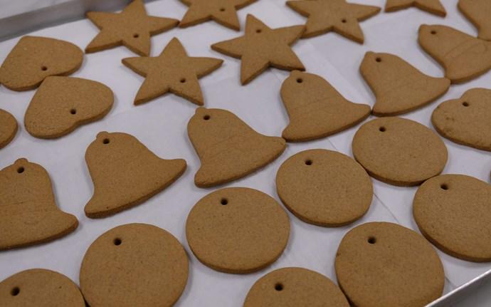 You can cut the cookies into any shape you like. *(Image: Buckingham Palace)*