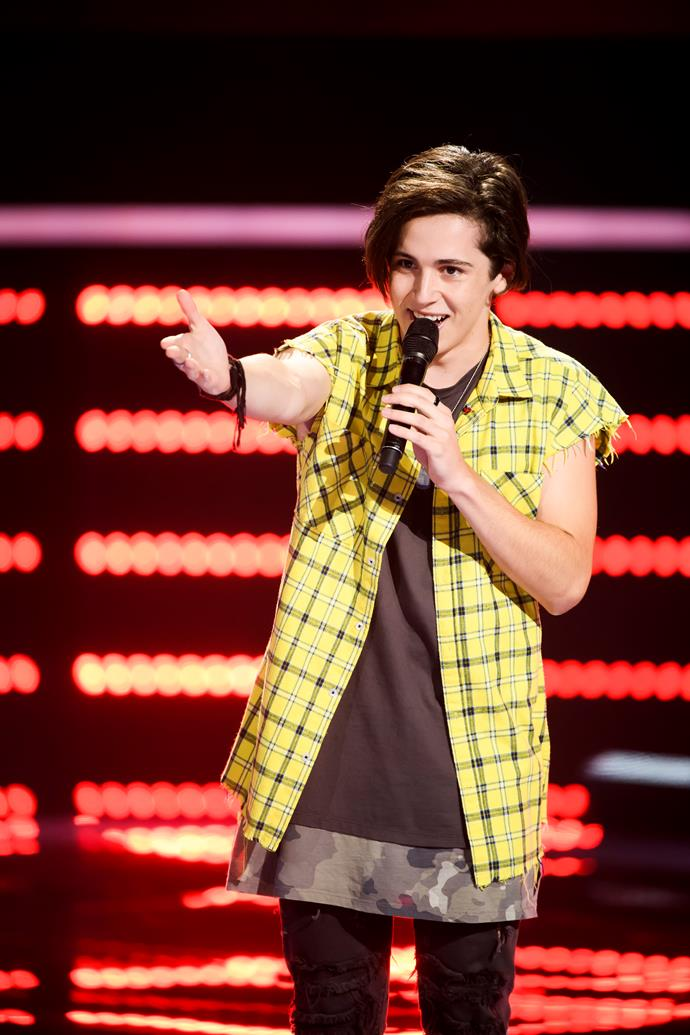 "**Aydan** <br><br> 18-year-old pop singer Aydan made his mark on *The Voice Australia* in 2018, and now he's hoping to represent the country at Eurovision. <br><br> ""It's unbelievable to be participating in *Eurovision – Australia Decides*. Having been a fan of Eurovision, it's really hard to comprehend that I am going to have a shot at representing our country at the Eurovision Song Contest in 2019,"" he says.  <br><br> ""I have such a supportive fan base and I am hoping that together we'll go on this journey and see a new generation of Eurovision fans."""