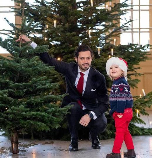 "Did Prince [Carl Philip of Sweden](https://www.nowtolove.com.au/tags/prince-carl-philip-duke-of-varmland|target=""_blank"") and his two-year-old son Prince Alexander just win Christmas with this extreme level of cuteness? We think so! *(Image: @prinsparet Instagram)*"