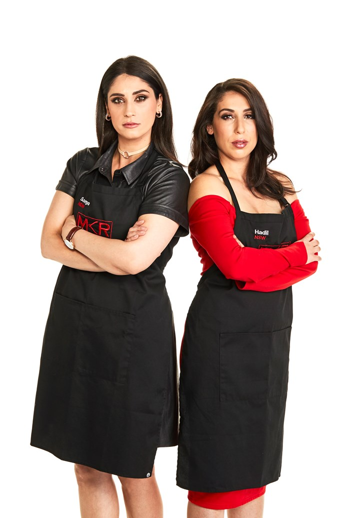 Fellow *MKR* contestants Sonya and Hadil clashed with Jess and Emma.