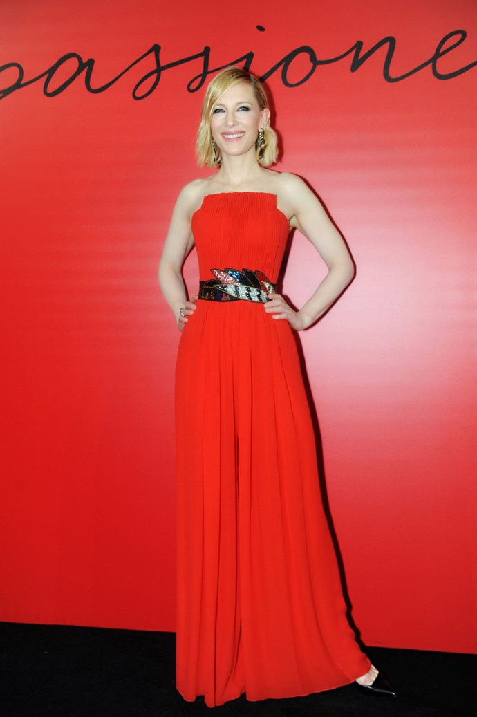 Cate Blanchett celebrates her 50th birthday on May 14. *(Source: Getty)*