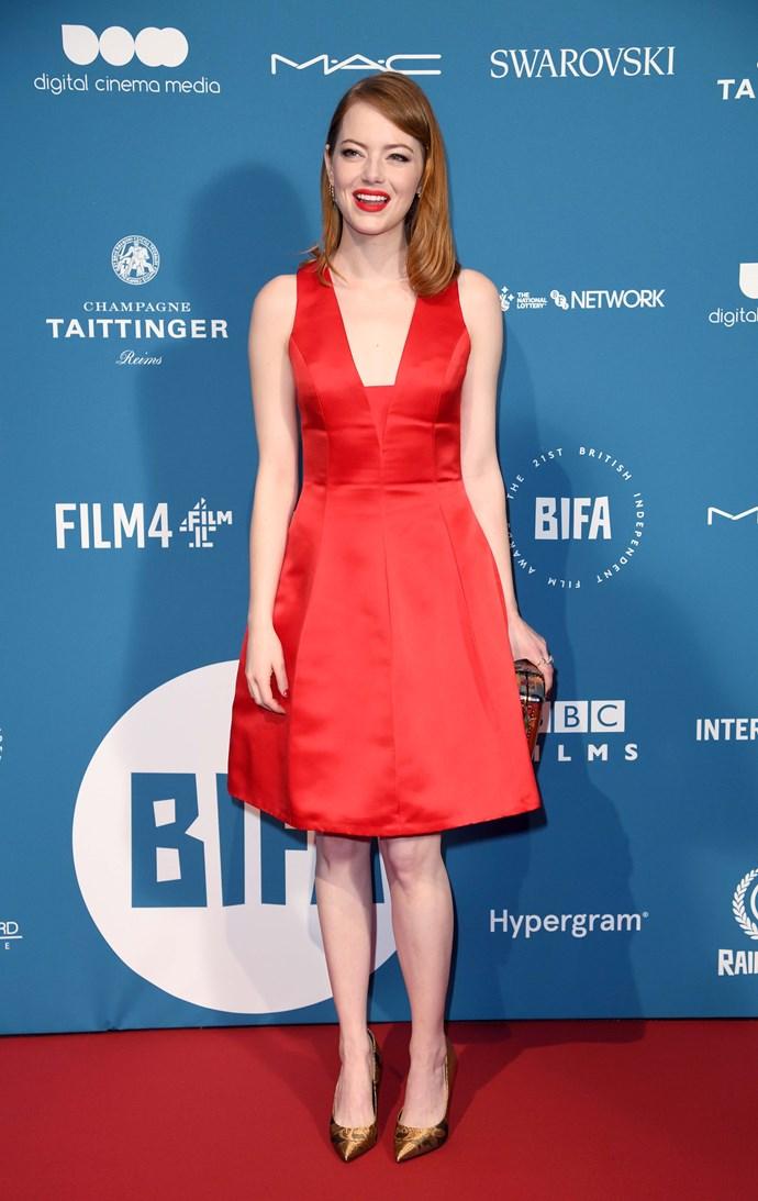 Emma Stone celebrates her 31st birthday on November 6. *(Source: Getty)*