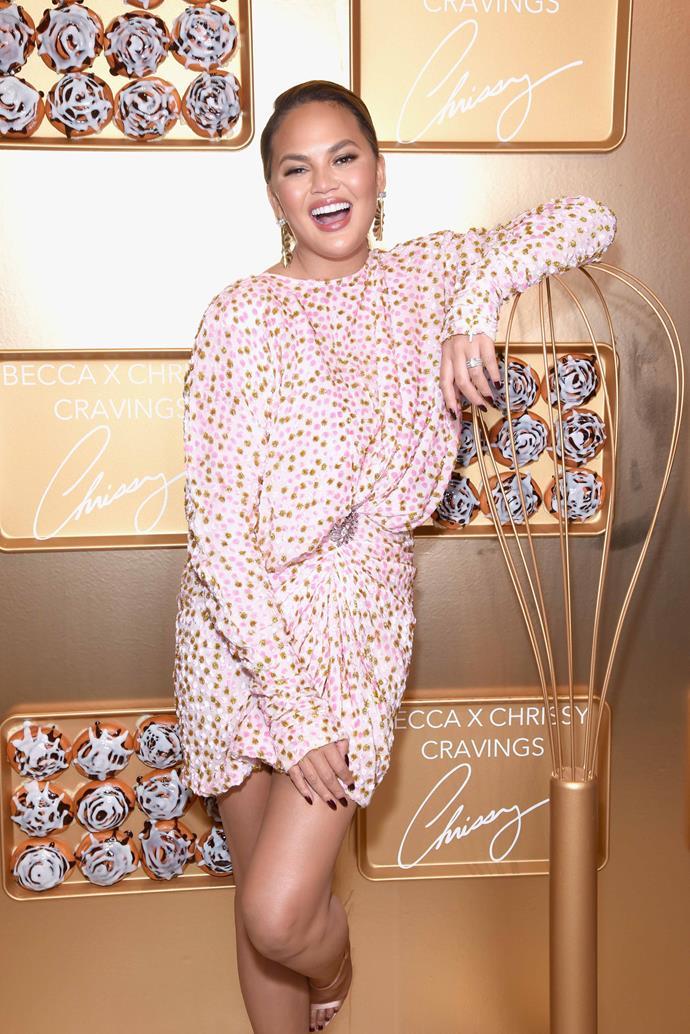Chrissy Teigen celebrates her 34th birthday on November 30. *(Source: Getty)*