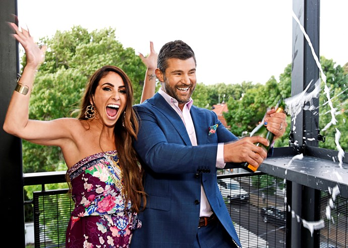 "**SARA AND HAYDEN QUIT.. THEN WIN!** <br><br> **The Block** <br><br> In a Block first, two tradies were arrested on site – with one being convicted of credit card fraud and deported while the other was released.  <br><br> ""It had everyone second guessing themselves,"" contestant Jess Eva, 33, whose Block-issued team credit card had been swiped, told ***TV WEEK***.  <br><br> ""Whenever something went missing, it had people wondering if it had been stolen.""  <br><br> That wasn't the only Season 14 drama on the St Kilda set of Nine Network's *The Block*. There was a clear divide between the Penthouse Alliance (Jess and Norm Hogan and Carla Dziwoki and Bianca Chatfield) and the remaining Old Gatwick crew, ensuring fierce rivalries.  <br><br> However, it was [Sara and Hayden Vale](https://www.nowtolove.com.au/reality-tv/the-block/the-block-sara-hayden-reality-tv-return-53111