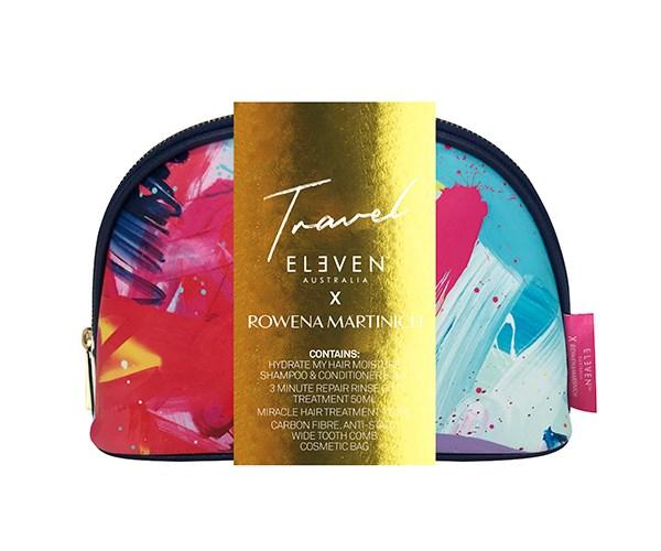 "ELEVEN Australia x Rowena Martinich Travel Bag, $42.95 at [Adore Beauty](https://www.adorebeauty.com.au/eleven-australia/eleven-rowena-travel-bag.html|target=""_blank""|rel=""nofollow"")"