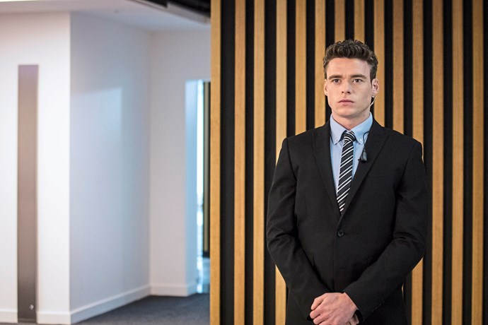 "**WAITING TO EXHALE** <br><br> **Bodyguard** <br><br> When the Brits began to rave about their new BBC thriller *[Bodyguard](https://www.nowtolove.com.au/celebrity/tv/richard-madden-bodyguard-season-2-52586|target=""_blank"")*, the rest of the world wanted in – and it certainly didn't disappoint.  <br><br> When the six-part series finally dropped on Netflix in Australia, it kicked off with a white-knuckle 20-minute opening scene in which police officer and war veteran David Budd (Richard Madden) tries to talk a terrorist out of detonating a bomb on a packed commuter train."
