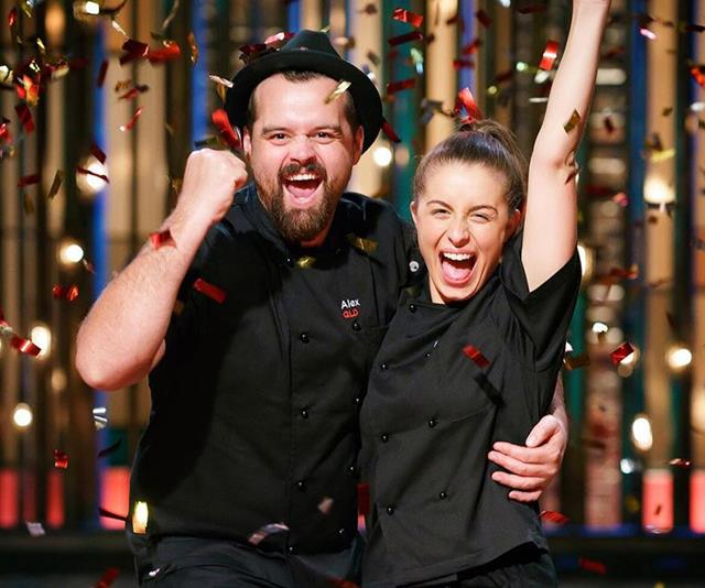 The show's most recent winners would love to do a cooking show together. *(Image: Instagram @mykitchenrules)*