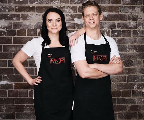 Serious foodies Amy and Tyson were crowned the 2017 winners. *(Image: Instagram @mykitchenrules)*