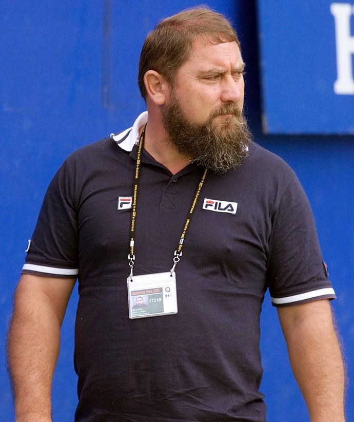 Jelena Dokic's father Damir Dokić. *(Image: Getty)*