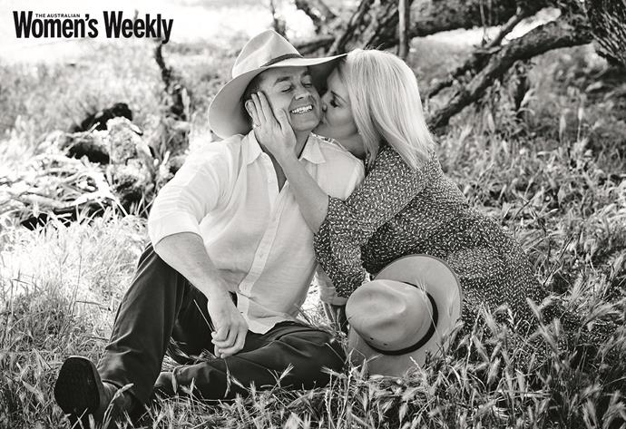 Grant and Cheryl Denyer have been married for almost a decade. *(Image: The Australian Women's Weekly)*
