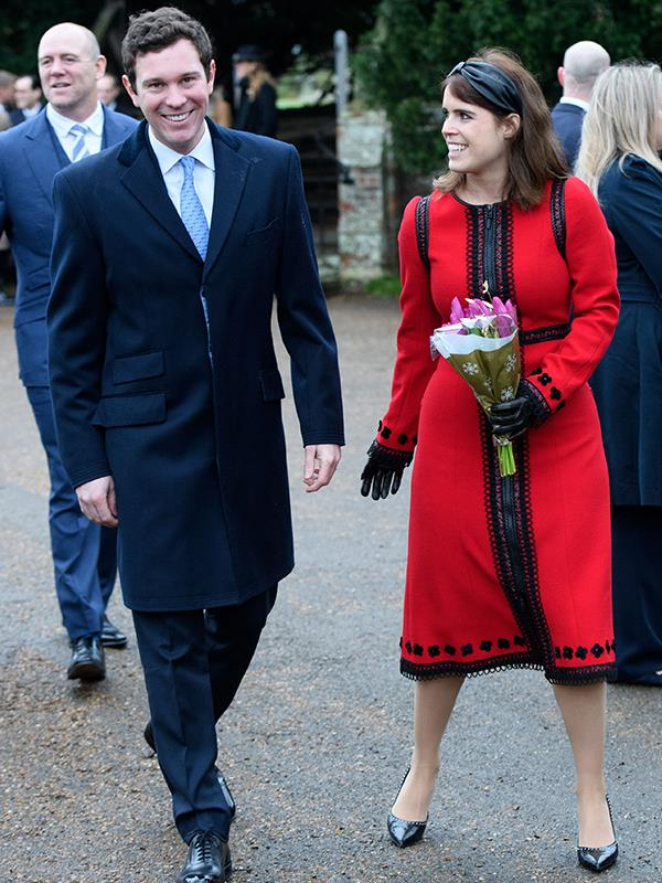 Jack Brooksbank made his royal Christmas debut this year. *(Image: Rex Features)*