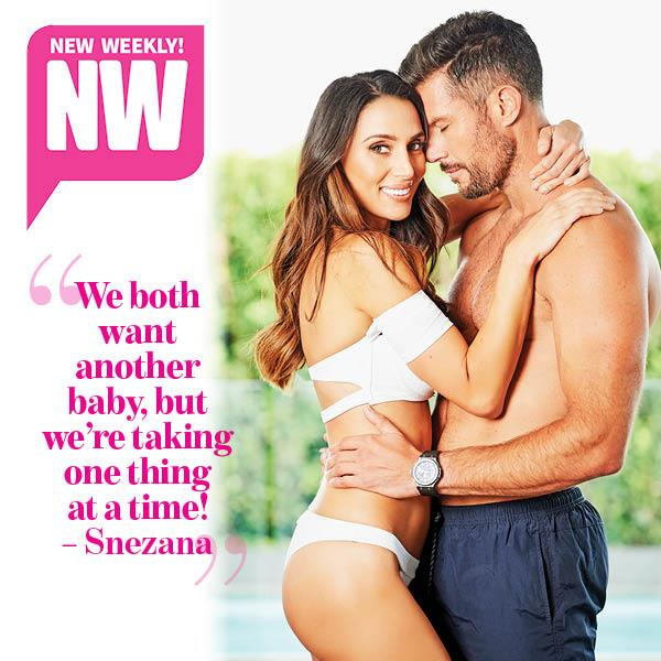Sam Wood and Snezana in this weeks issue of NW! *(Source: NW)*