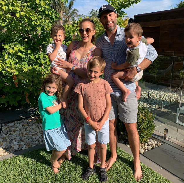 The Judd family had some fun in the sun in Melbourne. *(Image: Instagram @becjudd)*