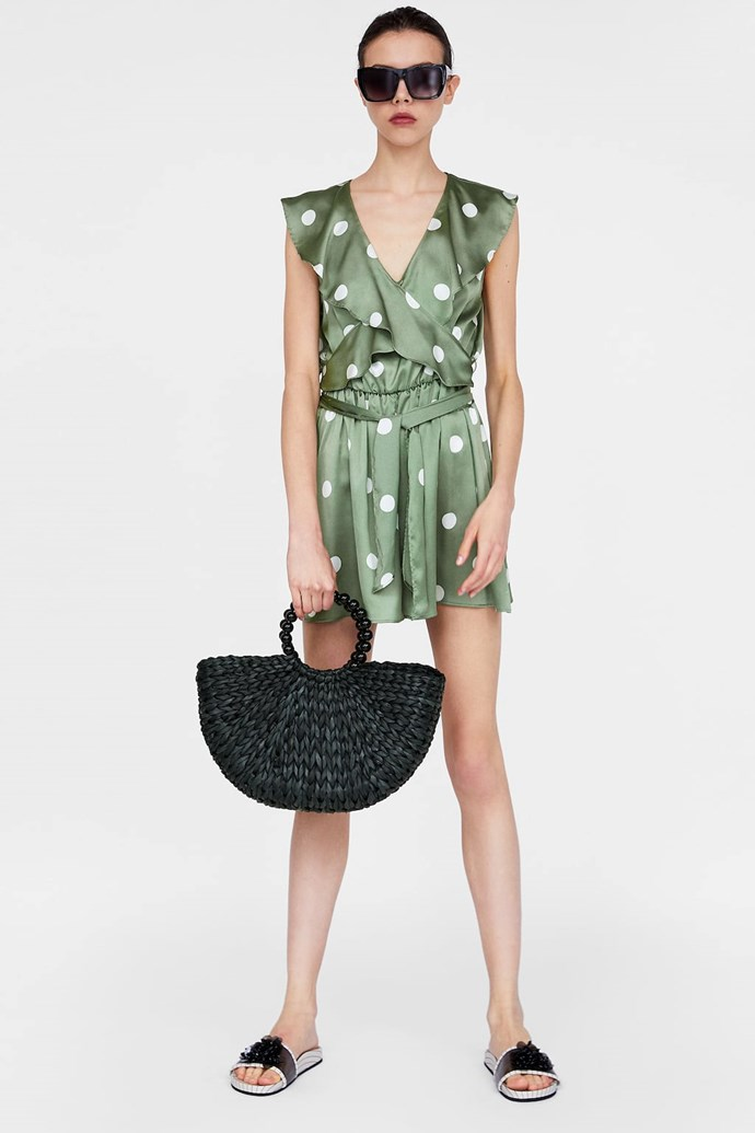"""This [Zara polka dot](https://www.zara.com/au/en/polka-dot-jumpsuit-p02961305.html?v1=6533082&v2=1165531