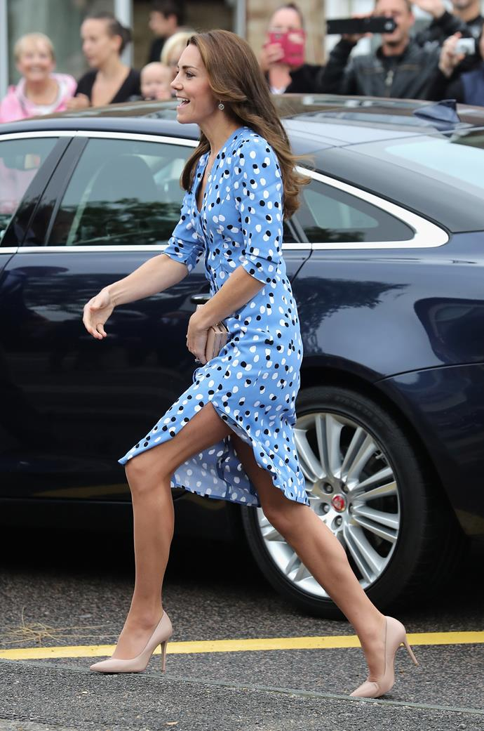 There's no denying Duchess Catherine's on-point style. *(Image: Getty)*