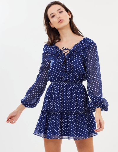 """And if you're after something a little more modest, this long sleeved Fifth Label design is perfect for covering up while still looking glam. Available from [The Iconic](https://www.theiconic.co.nz/titania-ls-dress-643569.html
