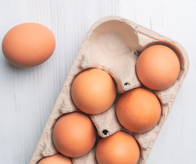 **Eggs** <br><br> Eating a diet full of high-protein foods like eggs may help you burn an extra 80 to 100 calories a day.  No wonder egg-white omelettes are a celebrity staple! *(Source: Getty)*