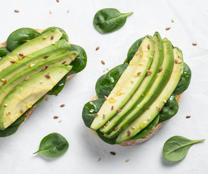 **Avocado** <br><br> The monounsaturated and oleic fatty acids in avocado oil may help to reduce abdominal fat. *(Source: Getty)*