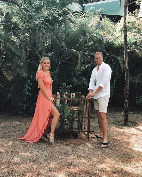 Are these *Bachelor in Paradise* lovebirds back on? A telling post on social media has sent fans into frenzy. *(Image: Instagram / @keiramaguire)*