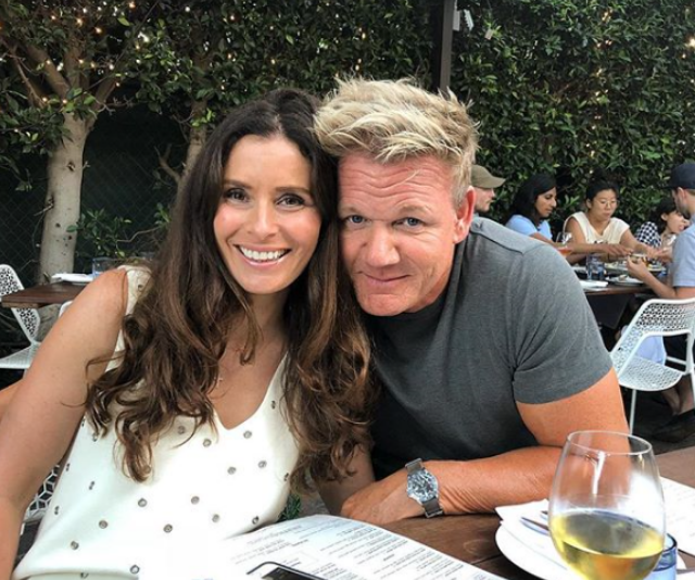 Love up couple. Gordon and Tana, who have been married since 1996, and recently celebrated the 19th birthday of their twins Holly and Jack. *(Image: Instagram/Gordon Ramsay)*
