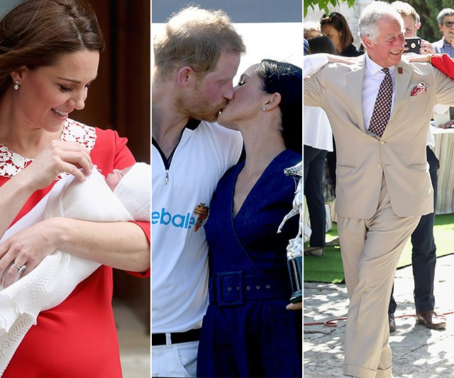 2018 has been a big year for the royals. *(Images: Getty Images)*