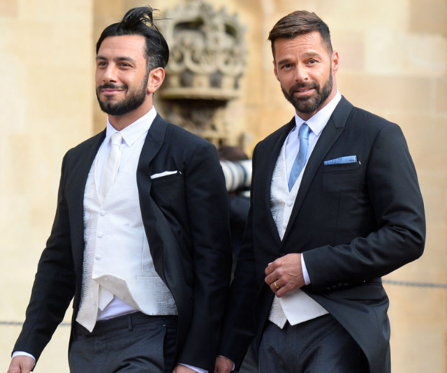 Jwan and Ricky attend the wedding of Princess Eugenie of York and Jack Brooksbank in 2018. *Image: Getty.*