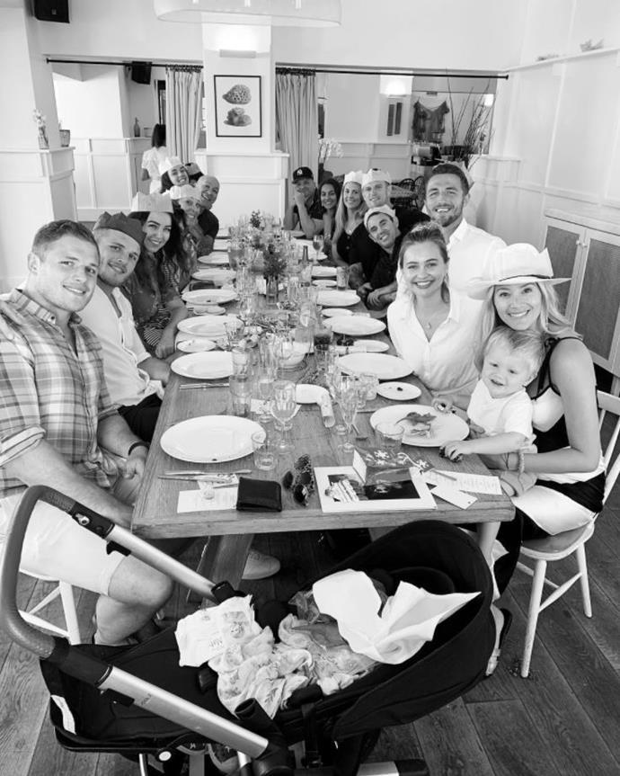 The Burgess clan minus Phoebe. *(Image: Instagram @joanna.m.burgess)*