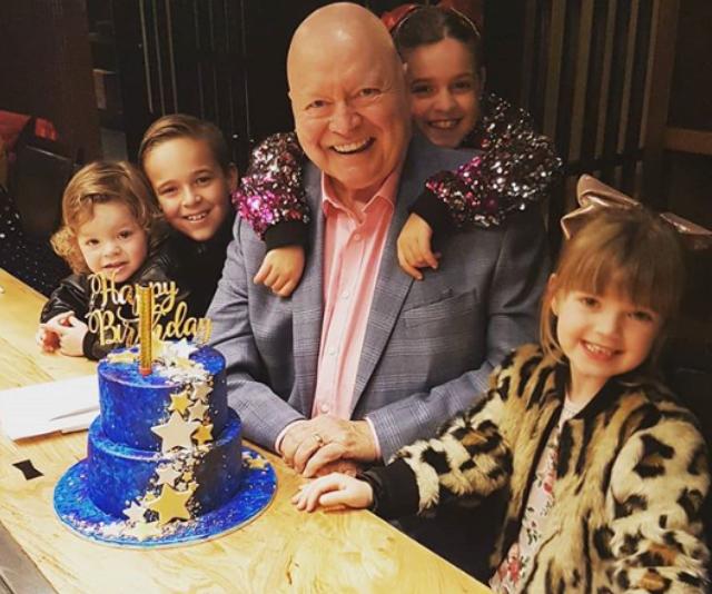 Bert is a doting grandfather.  *Image: Instagram/Lauren Elise Newton*